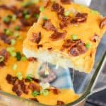 Recipe for bacon breakfast casserole