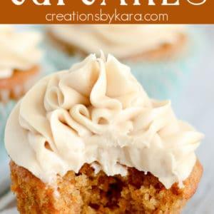 carrot cupcakes pinterest pin