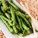 Easy Sesame Green Bean Recipe