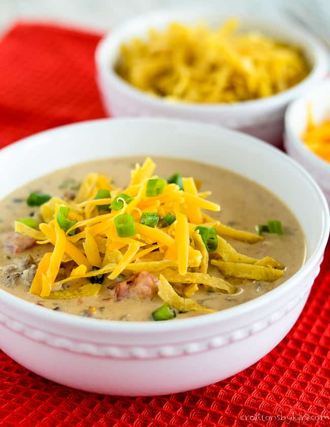 Loaded Nacho Soup