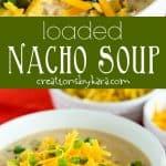 nacho soup collage