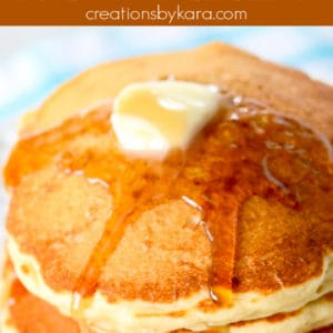 favorite oatmeal pancakes pinterest pin