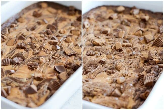 tips for baking peanut butter brownies