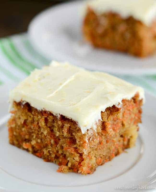 Best Moist Pineapple Cake: Carrot Cake Recipe With Orange Cream Cheese Frosting