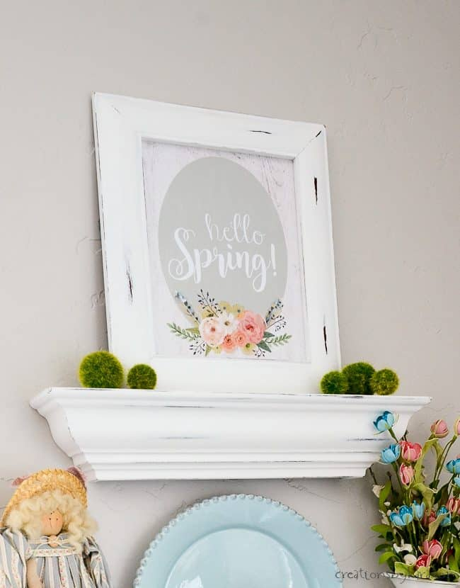 photo about Spring Printable titled Hi Spring Printable - Creations as a result of Kara