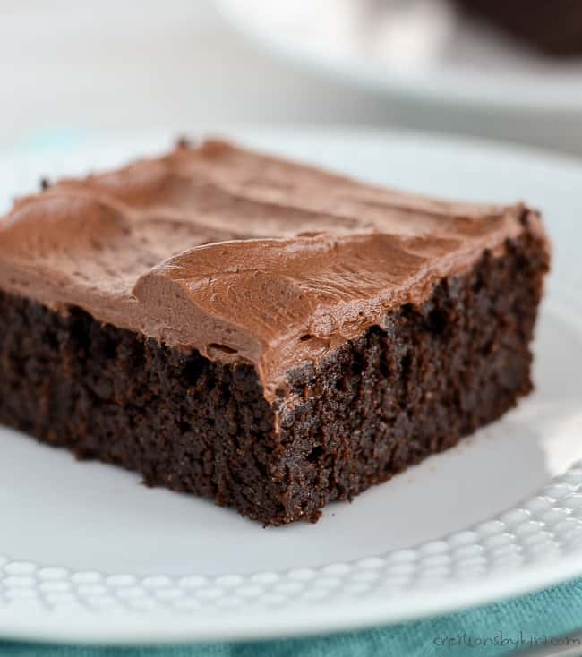 Chocolate Quinoa Cake