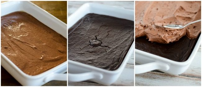 how to bake and frost chocolate quinoa cake