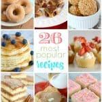 Reader Favorite Recipes! (26 most popular recipes)