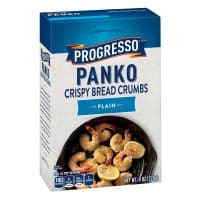 Progresso Panko Plain Crispy Bread Crumbs, 8 oz Box