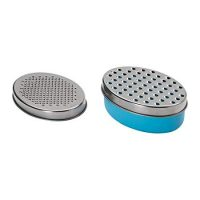 Ikea Grater with Container, Blue
