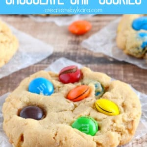 oatmeal peanut butter chocolate chip cookies Pinterest Pin