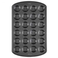 Wilton Premium Non-Stick Mini Muffin Pan, 24-Cup