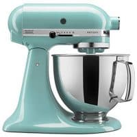 KitchenAid 5-Qt. Stand Mixer with Pouring Shield - Aqua Sky