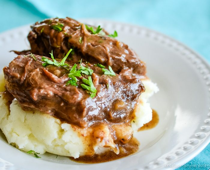 beef roast crock pot recipe with gravy