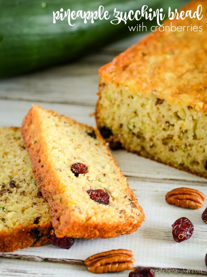 pineapple zucchini bread title photo