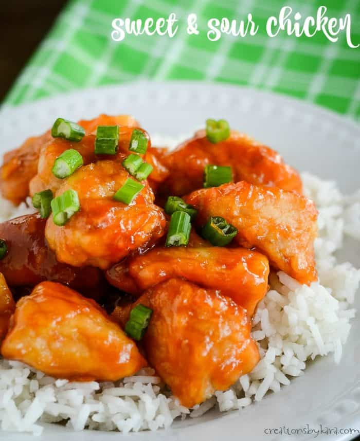 sweet and sour chicken title photo