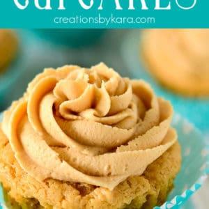 peanut butter cupcakes recipe pinterest pin