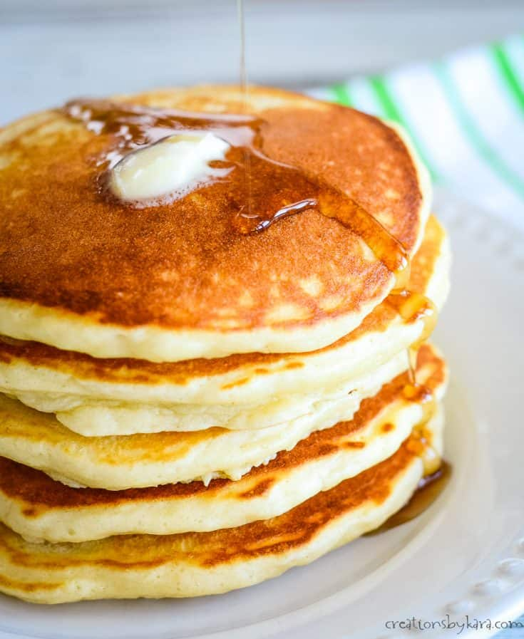 Diner Style Pancakes