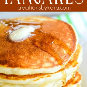 diner style pancakes pinterest pin