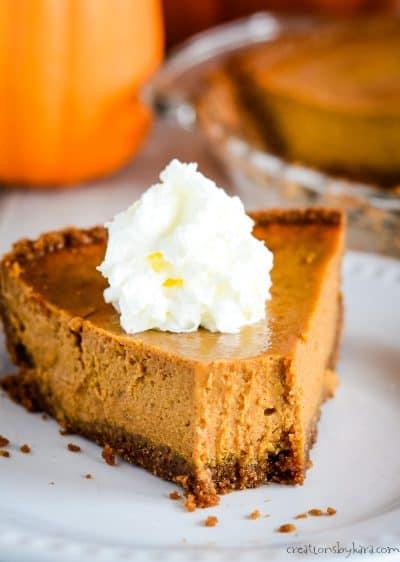 sweetened condensed milk pumpkin pie