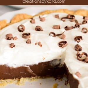 made from scratch chocolate cream pie recipe