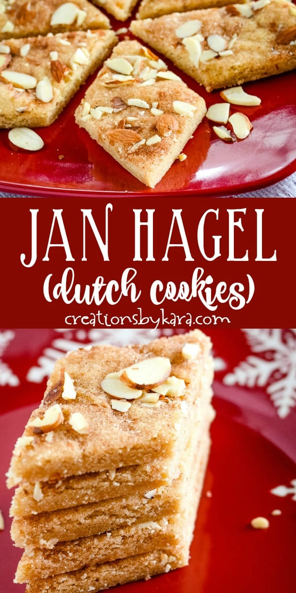 jan hagel dutch cookies recipe collage
