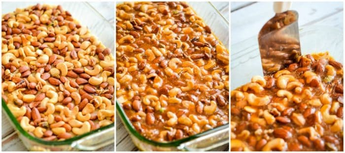 nut bars with butterscotch chips