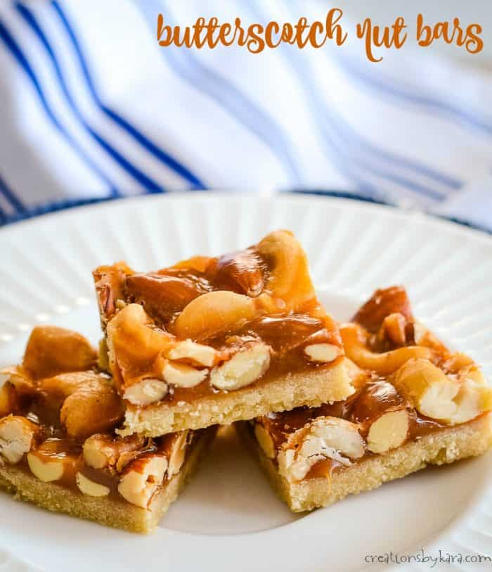 butterscotch nut bars title photo