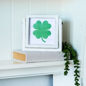 farmhouse st patrick clover printable