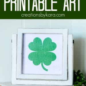 "5"" st patricks day prints pinterest pin"