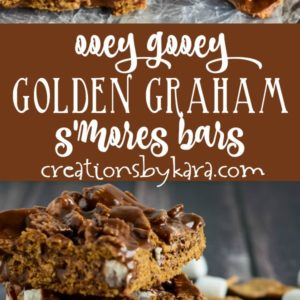 smore cereal bars