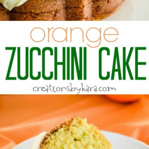 orange zucchini bundt cake