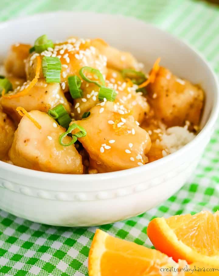tasty baked orange chicken recipe