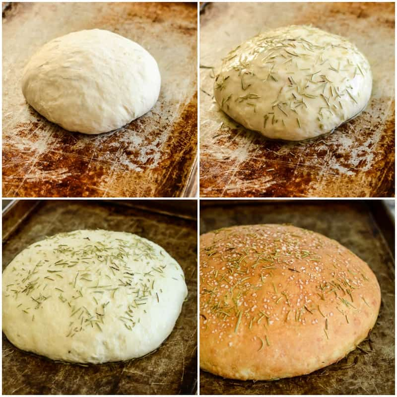 homemade rosemary bread