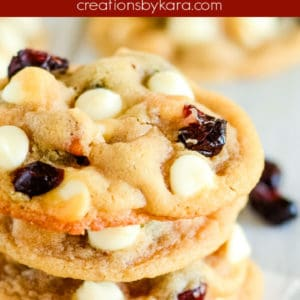 white chocolate macadamia cranberry cookies pinterest pin