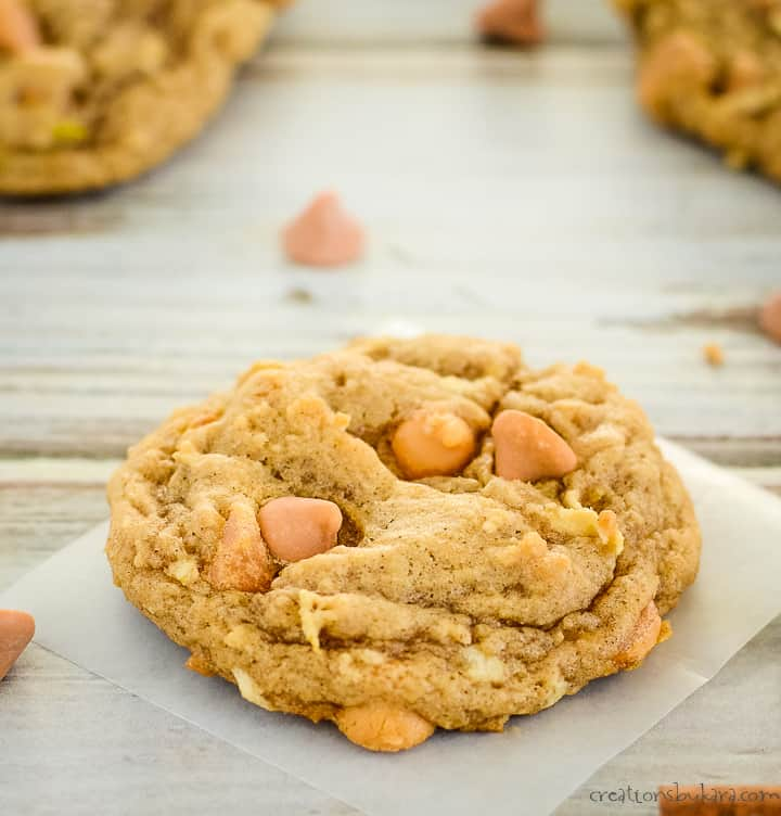 apple cookies with butterscotch chips
