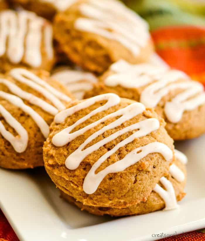 iced pumpkin cookie recipe