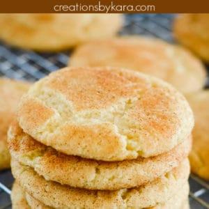best snickerdoodles cookie recipe
