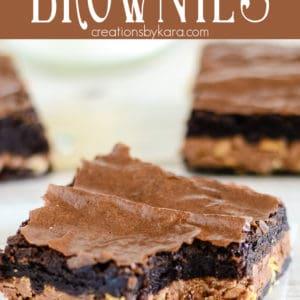 symphony bar brownies recipe pinterest pin