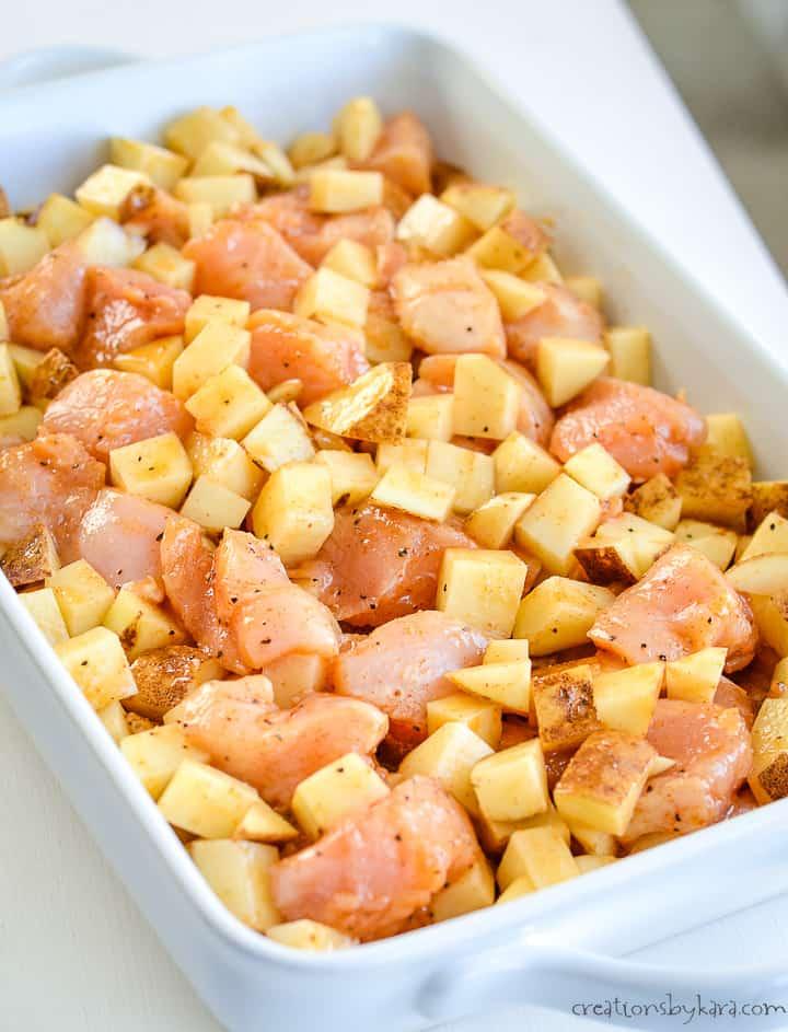 chicken potato recipe