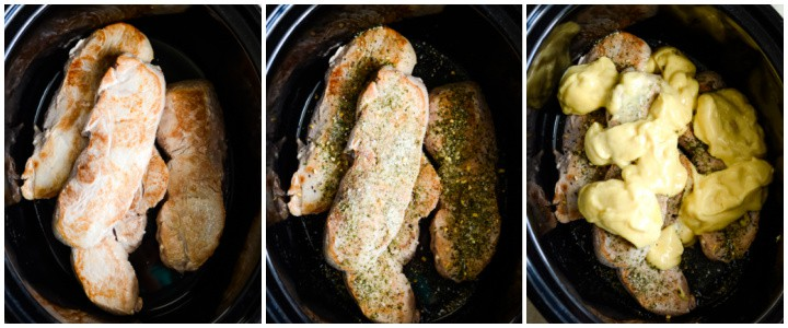 recipe for crock pot pork chops with ranch dressing