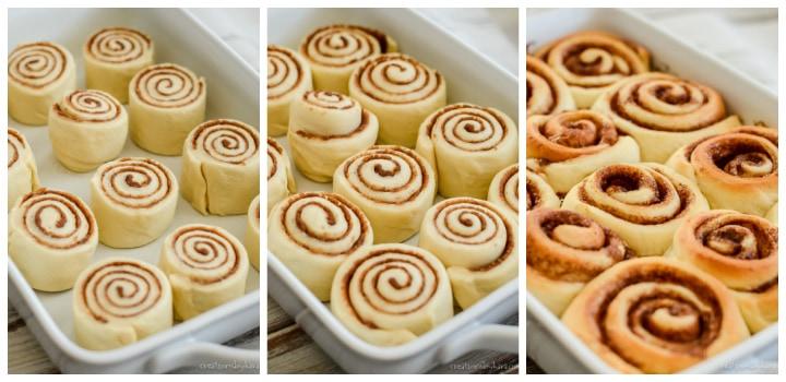 instructions for making cinnamon rolls