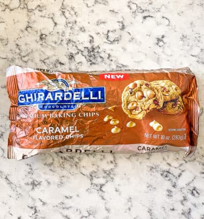 ghirardelli caramel flavored chips