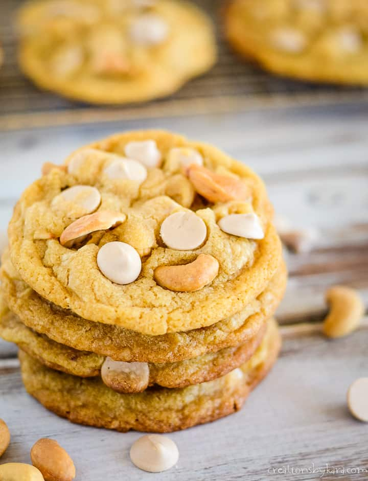 browned butter salted caramel cookies