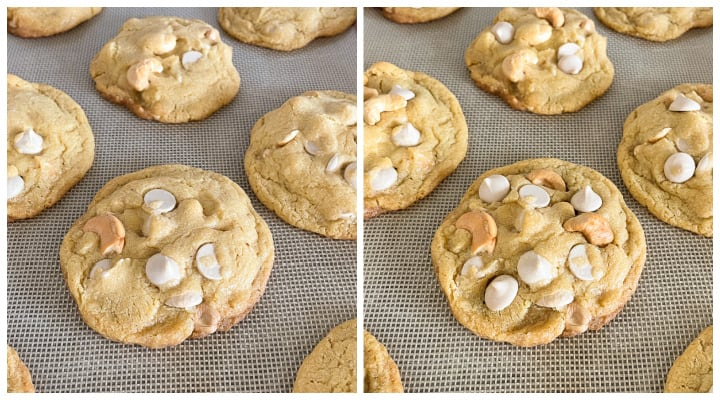 photos showing how to make pretty bakery style cookies