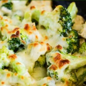 keto chicken and broccoli recipe pinterest pin