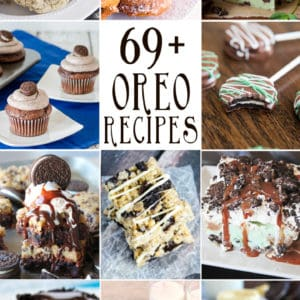 over 65 recipes made with Oreo cookies
