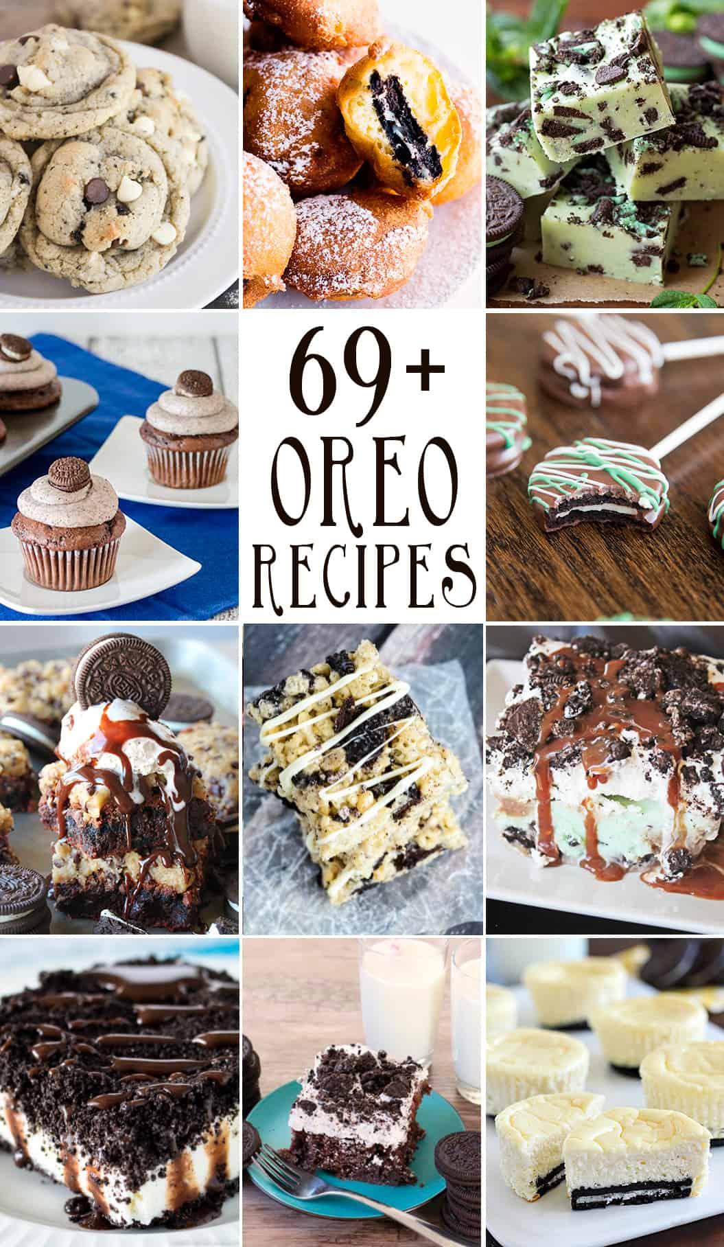 69+ oreo recipes collage