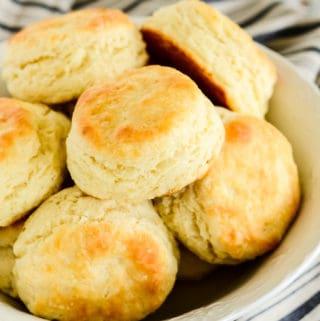 basket of warm soft angel biscuits